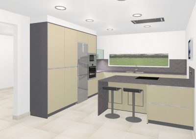 Personalised project – KITCHEN IN ARGENTONA
