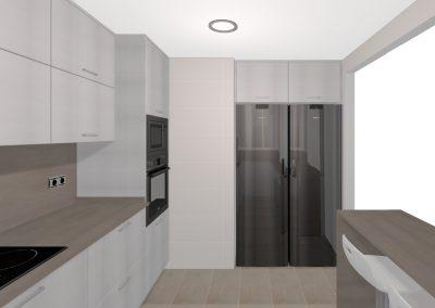 Proyecto personalizado - Cocina zona Centro (Mataró).1