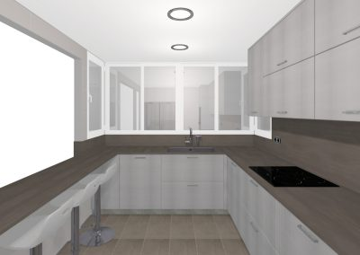 Personalised project – KITCHEN CENTER ZONE (Mataró)