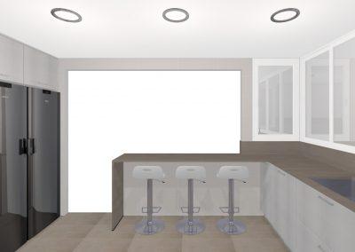 Proyecto personalizado - Cocina zona Centro (Mataró).4